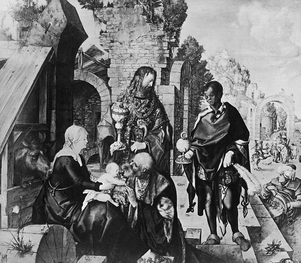 'Adoration Of The Magi' by Albrecht Durer, 1504