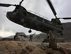 Taliban Attack on Helicopter