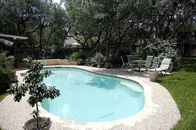 How warm is your swimming pool weekend poll for Landscaping rocks grand rapids