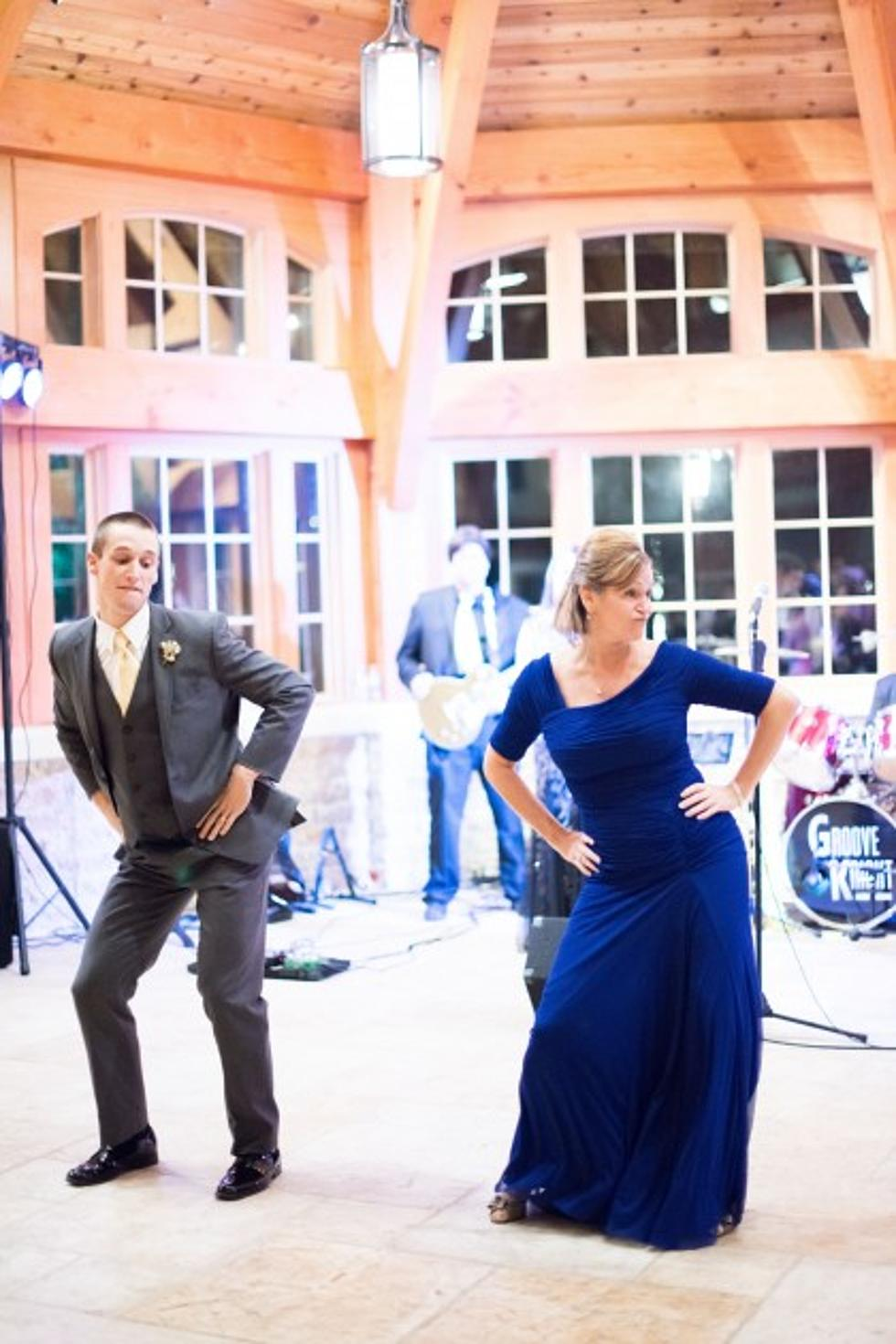 A Wedding Reception Mother-Son Dance to End All Dances [Video]