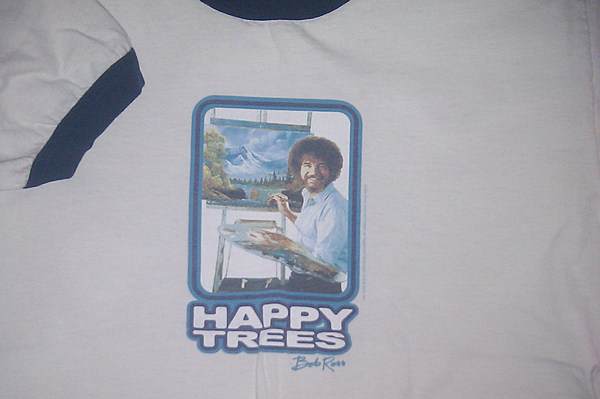 Artprize kickoff includes bob ross look alike contest for Insane inflatable 5k shirt