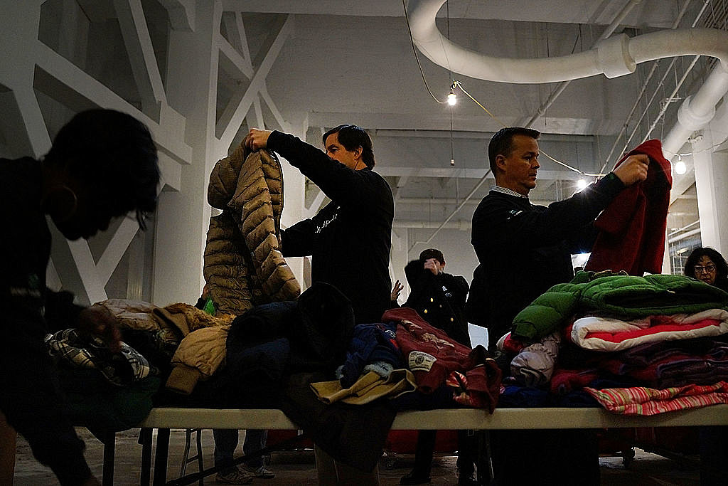New York Charity Struggles To Collect Winter Coats For Needy