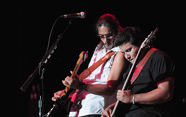 Los Lobos And Los Lonely Boys Perform At The Greek Theatre