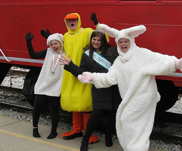 Bunny Train characters r